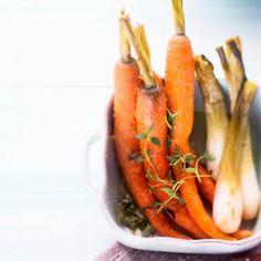 Uuniporkkanat - Roasted carrots