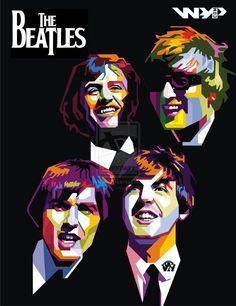 WPAP - The Beatles by TioArt
