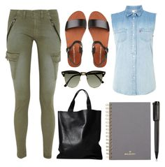 """""""OOTD: Exams"""" by darrenisapuppy ❤ liked on Polyvore featuring rag & bone, Levi's, London Edit, Ray-Ban, Mulberry and Harley-Davidson"""