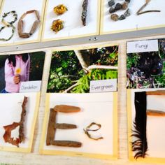 Projects (Reggio) natural alphabet inquiry to create lasting environment Play Based Learning, Early Learning, Kids Learning, Reggio Inspired Classrooms, Reggio Classroom, Classroom Organization, Classroom Ideas, Kindergarten Literacy, Early Literacy