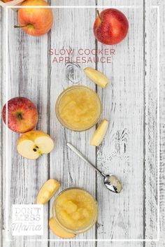 Easiest Slow Cooker Applesauce - Don't Mess with Mama  Fruit snacks One-Ingredient Slow Cooker Applesauce. The easiest homemade applesauce recipe using only one ingredient and made in the slow cooker. A delicious and healthy snack for kids and great for baking. www.dontmesswithm… #applesauce #slowcooker Cinnamon Oil, Homemade Applesauce, Baking Snacks, Fruit Snacks, Healthy Snacks For Kids, Natural Living, Recipe Using, Vegan Gluten Free, Real Food Recipes