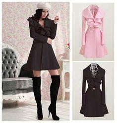 Slim Fit Long Coat Outwear