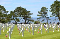 70th Anniversary D-day Normandy, American Cemetery