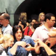 Norman and Emily...so sweet. This is possibly the cutest thing I have EVER seen <3