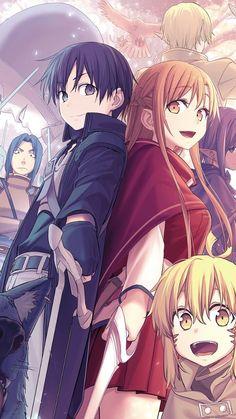 Kirito e Asuna Kirito Asuna, Kirito Kirigaya, Manga Anime, Online Anime, Online Art, Kirito Sword Art Online, Tous Les Anime, Sword Art Online Wallpaper, Corpse Party