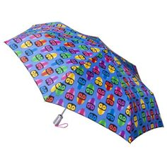 Totes Multi Owls Auto Open-Close Umbrella (currently unavailable online)