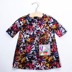 Infant & Toddler Dress - Floral with Pocket
