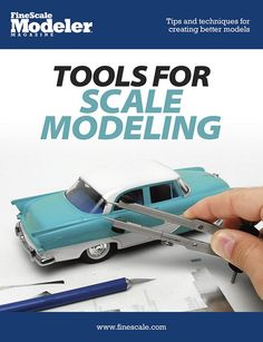 Glue, knives, rulers, and dial calipers. Find out which tools will make your models more accurate.