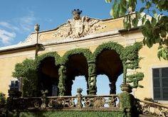 Traditional Garden in Lenno, Italy