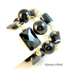 black agate by Joana Czellnik