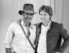 Han Solo and Indiana Jones in one shot....does it get any better than that?