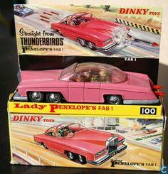 Modellautos - Dinky Toys - Lady Penelope
