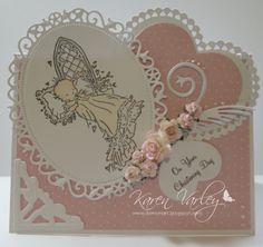 christening card