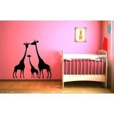 Cute Giraffe Wall Designs