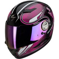Pink helmet, love it