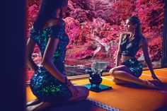 画像: 4/11【GUESS新広告は日本が舞台 伝統的モチーフを取り入れ東西文化を融合】