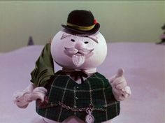 Old Snowman played by Burl Ives on Rudoff the red nose raindeer