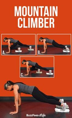 Mountain Climber   12 Incredible Abs Exercises You Should Know - BuzzFeed News