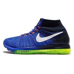 Nike Zoom All Out Flyknit, Chaussures de Running Homme, Azul (Racer Blue / White-Obsidian-Blue Glow), EU - Chaussures nike (*Partner-Link) Nike Zoom, Nike Shoes, Sneakers Nike, Women's Shoes, Baskets Nike, Nike Flyknit, Trail Running Shoes, Running Women, Nike Women