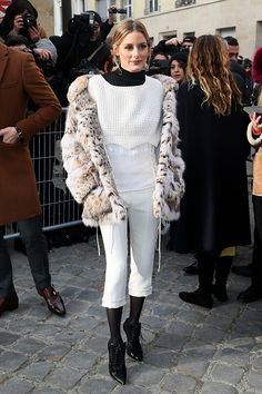 Olivia Palermo attends the Christian Dior Haute Couture Spring Summer 2017 show as part of Paris Fashion Week on January 23 2017 in Paris France