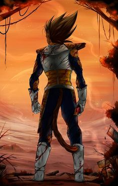 maybe I lost, but its not the end....  I'll win next time I face you,   Kakarot