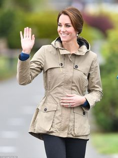Catherine, Duchess of Cambridge arrives to board the tall ship, Pacific Grace, before sailing with members of the Sail and Life Training Society at Victoria Inner Harbour on the final day of their Royal Tour of Canada on October 1, 2016 in Victoria, Canada.