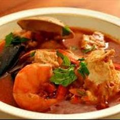Cioppino (seafood Stew) on BigOven: Ciopinno is a fish/seafood stew deriving from Italy and is usually prepared from the catch of the day, which explains the many regional versions. While touring Italy my then nine year old son couldn't get enough of this dish. Although he ordered it at least once a day, every restaurant served it a little differently in terms of sauce and seafood/fish. This only made it more appealing to him! It's never the same twice so go ahead and make the base and add…