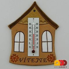 Thermometer, Petra, Pottery, Bird, Holiday Decor, Outdoor Decor, Home Decor, Scrappy Quilts, Houses