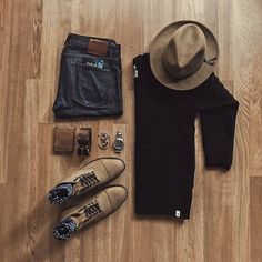 Essentials by dimitris_kolonas #mensoutfitswithboots