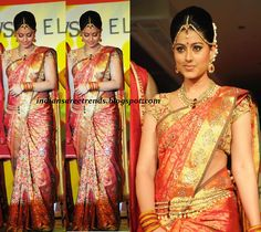 Latest Traditional And Designer Sarees Sneha Bridal Pattu Saree