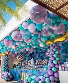 You have a party coming up and you have made the effort of finding the perfect party balloons. Well, it's one thing to find the best balloons Balloon Decorations, Birthday Party Decorations, 1st Birthday Parties, Balloon Ideas, Birthday Ideas, Balloon Balloon, Mermaid Party Decorations, Balloon Party, Third Birthday