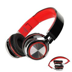 INGEL Foldable Heavy Bass Headphone Headset With Mic For Smartphone Tablet PC  | eBay