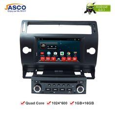 "7""Android Car DVD Player GPS Glonass Navi for Citroen C4 C-Triomphe C-Quatre 2004 2005 2006 2007 2008 2009 Radio Audio Stereo"