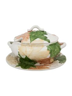 Mostrar detalhes para Terrina 3,5L Natural Glass Ceramic, Lidl, Natural, Banana, Kitchen, Portugal, Pine Tree, Creative, Porcelain Ceramics