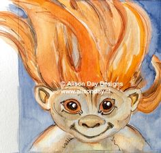 Sad Troll by Alison Day: www.alisonday.nl