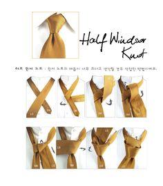 Half windsor knot