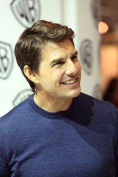 Tom Cruise, even though I've never seen his movies he's pretty cute!