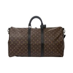 Louis Vuitton Keepall Macassar 55   From a collection of rare vintage luggage and travel bags at https://www.1stdibs.com/fashion/handbags-purses-bags/luggage-travel-bags/