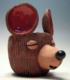 Bear pinch pot - Carrianne Hendrickson