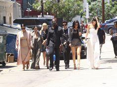The Kardashians' Street Style Outfits | POPSUGAR Fashion