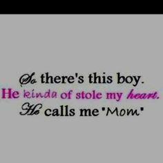 Love my boy!!