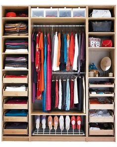 Pictures - 50 Clever ideas to organize your wardrobe - San Diego interior decorating | Examiner.com