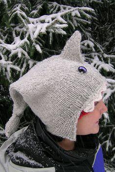 Ravelry: Shark Hat pattern by Allison MacAlister