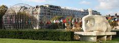 paris new residential building - Google Search New Paris, Mount Rushmore, Garden Sculpture, Mountains, Building, Outdoor Decor, Nature, Travel, Animals