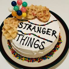 Stranger Things Cake.