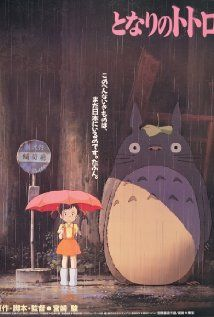 "A fun poster from the Hayao Miyazaki movie My Neighbor Totoro! This modern classic by Studio Ghibli tops many anime ""Best Of"" lists! Check out the rest of our fantastic selection of Hayao Miyazaki posters! Need Poster Mounts. My Neighbor Totoro Movie, My Neighbour Totoro, Hayao Miyazaki, Totoro Poster, Alfons Mucha, Ghibli Movies, Fantasy Films, Animes Wallpapers, Animation Film"