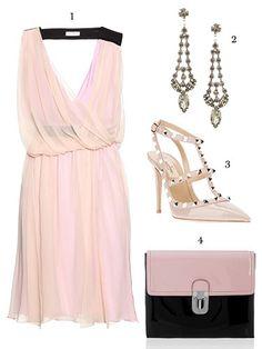 The Garden Wedding- dress, Vionnet; earrings, Tom Binns; shoes, Valentino Garavani; bag, Marni