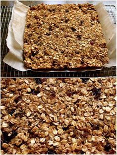 running: best pre and post-workout snack + banana bread granola bars