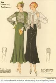 Image result for women's clothing 1932