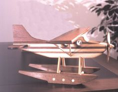31-DP-00371 - Toy Floatplane Downloadable Woodworking Plan PDF